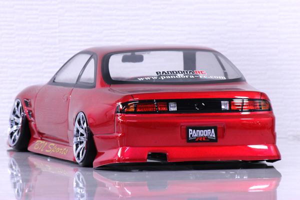 Nissan Silvia S14 240sx Kouki Bn Sports Edition 1 10 Body Set