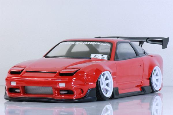 Nissan 180sx 240sx Origin Labo S13 Hatch W Flipups 1 10 Body Set