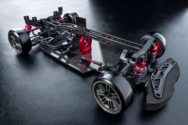 Mst Fmx D Mid Motor Rwd 2wd Chassis Kit Rc Drift Car Super G R