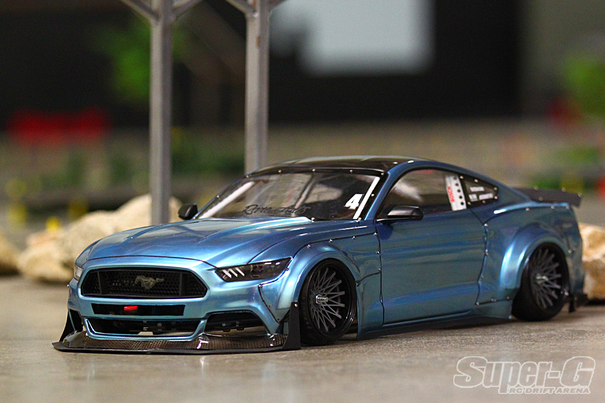 2015 ford mustang gt spec 5 gtr shelby boss 1 10 body set hpi 116534
