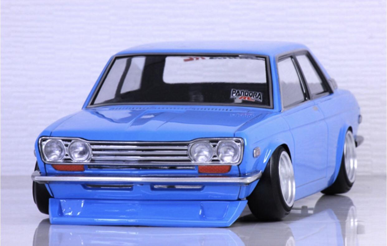 Nissan Datsun Blue Bird 510 110 Body Set Pandora Pab 2175 Super