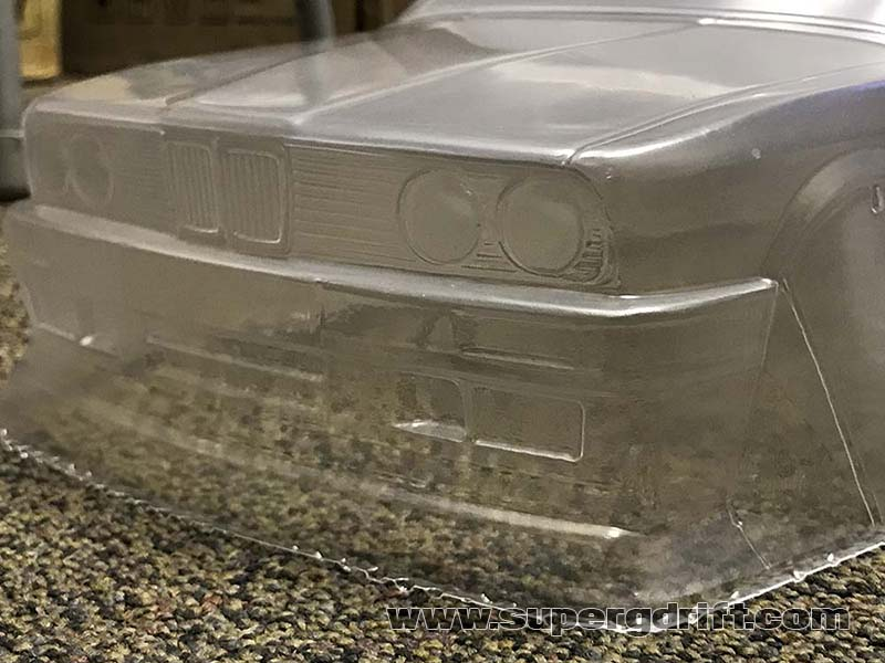 Bmw E30 Touring Wagon 1 10 Body Set Aplastics Super G