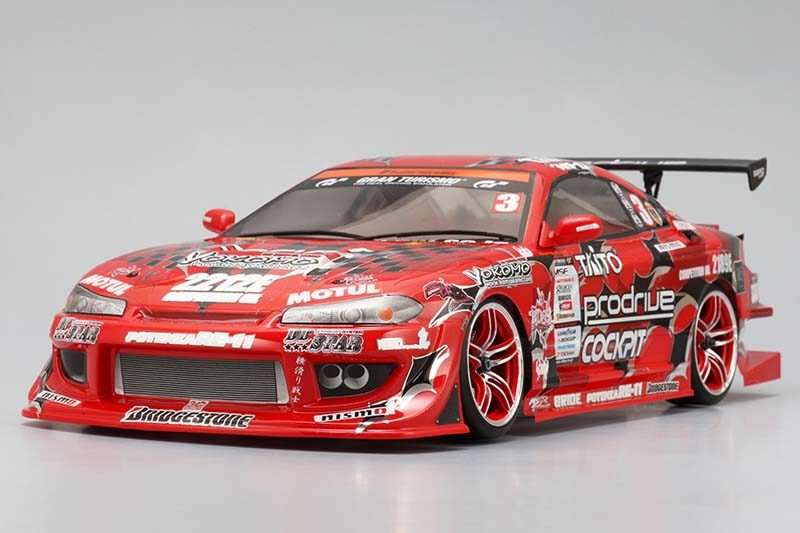 nissan silvia s15 team boss with potenza s15 1 10 body. Black Bedroom Furniture Sets. Home Design Ideas
