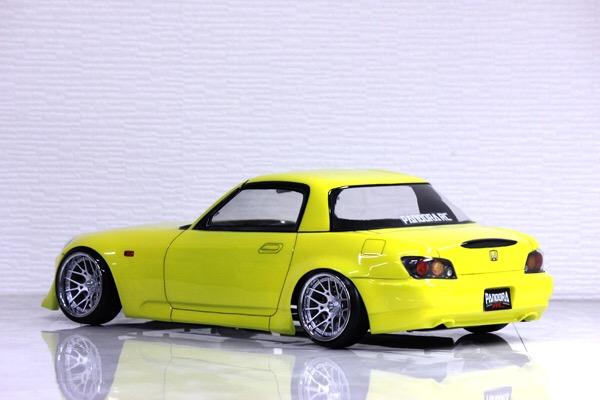 Honda S2000 AP2 1/10 Body Set [Pandora] PAB-2180   Super-G R/C Drift ...
