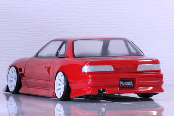 Nissan One-Via S13 240SX Coupe w/ Flipups Origin Labo 1/10 Body Set  [Pandora] PAB-2163