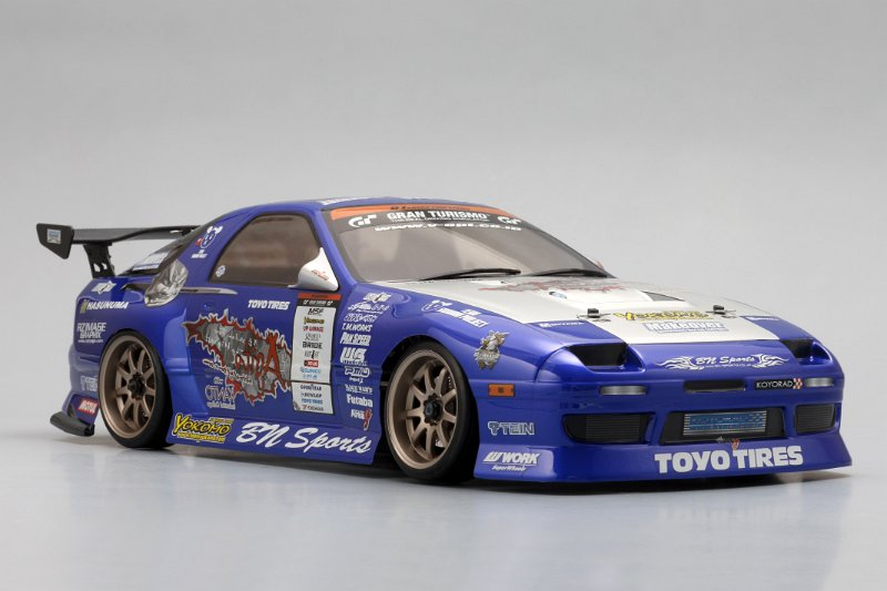 LOW - Mazda RX-7 FC3S Team Samurai Wing Set 181mm Wide [Yokomo] SD-TSFCW