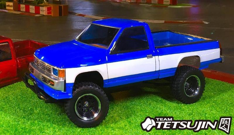 Datsun D21 Truck 1 10 Body Set Tetsujin Tt 7705 Super G R C Drift Arena Home