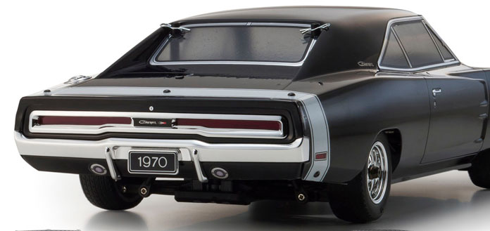 Dodge Charger 1970 110 Body Set Kyosho Super G Rc Drift Arena