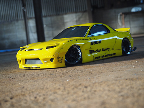 Rocket Bunny for (ABC) RX7 FD 1/10 Body Kit Set [Addiction] AD014-4