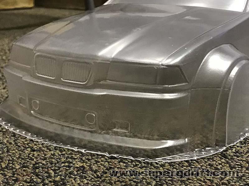 BMW E36 M3 Widebody 1/10 Body Set [APlastics]