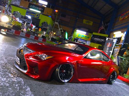Lexus Rc F Toyota Rcf 1 10 Body Set Tetsujin Tt 7704