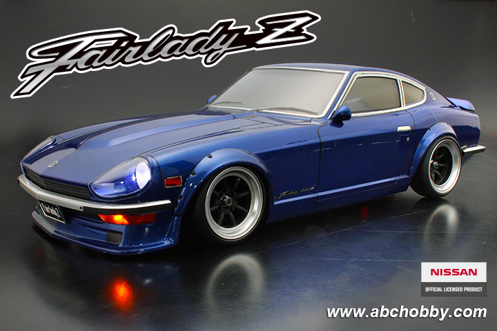 wangan fairlady z nissan datsun 240z s30 1 10 drift body. Black Bedroom Furniture Sets. Home Design Ideas