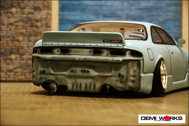 Rear Bumperless Core Support Nissan S14 Silvia (240sx) [Demi Works] DWS14BL