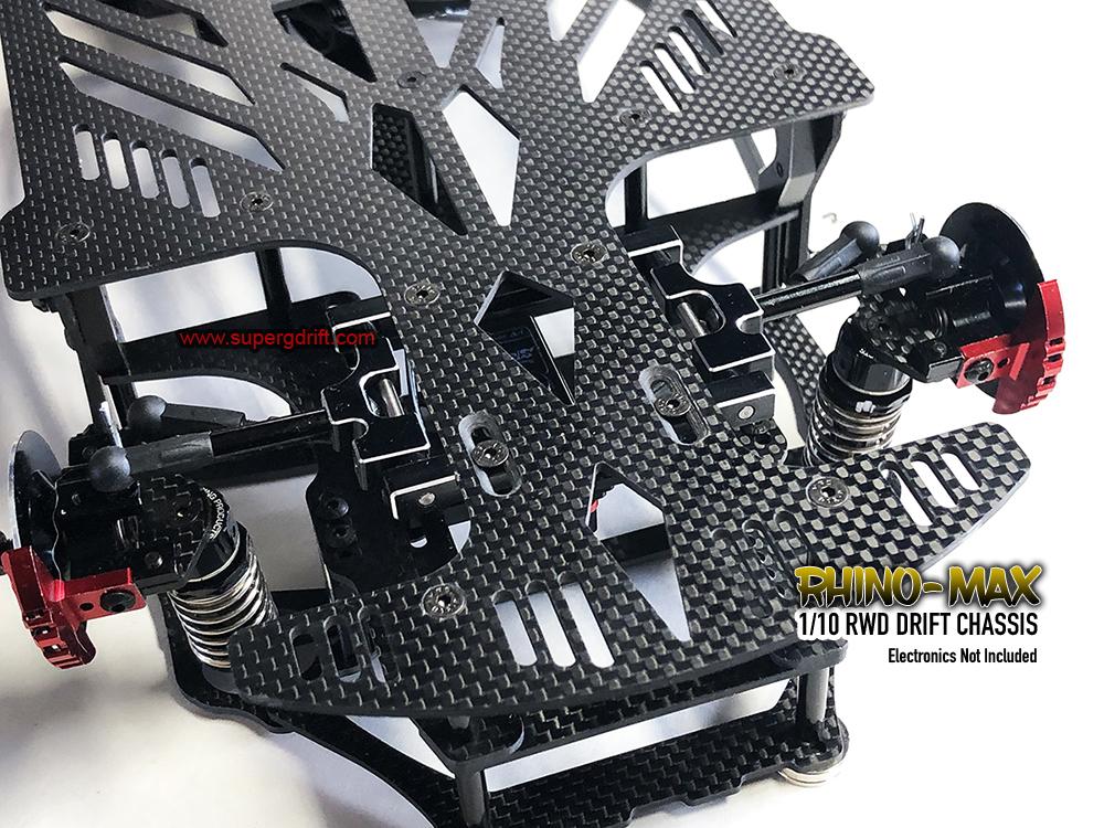 RHINO-MAX 1/10 DRIFT RWD CHASSIS RC CAR KIT (Assembled) *PREORDER*