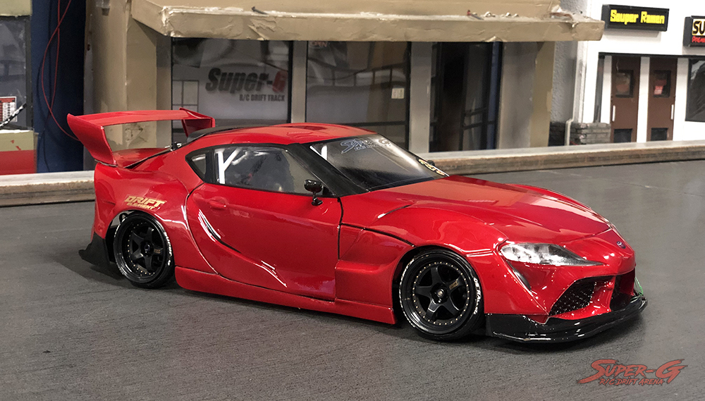 Toyota GR Supra A90 (J29) and PANDEM KIT 1/10 Drift Body Shell COMBO  [APlastics] SUPRAA90 PANDEM