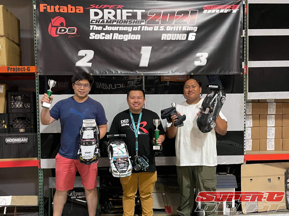 First Place - Mikko Yang, Second Place - Hao Huang, Third Place - Christian Gonzales