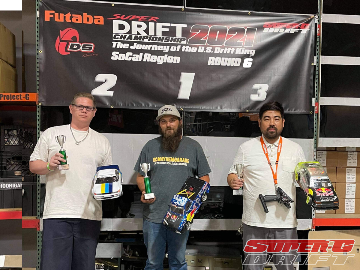 First Place - DJ Young, Second Place - Mike Ill, Thrid Place - Don Chang